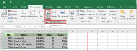 print dialog printable area height how to create a dynamic print area in excel