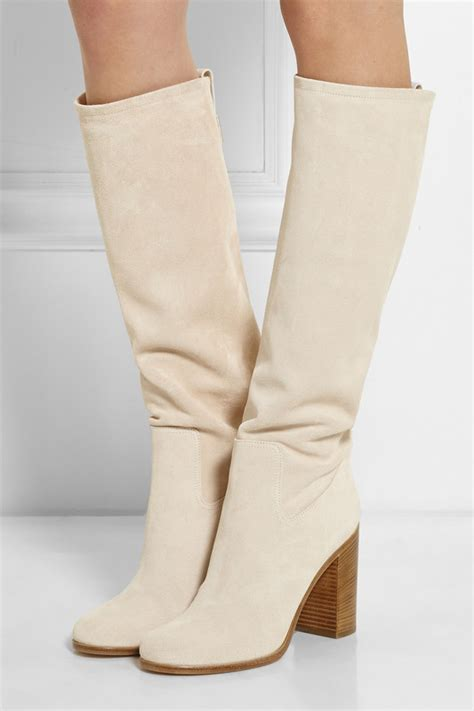 popular white suede boots buy cheap white suede boots lots