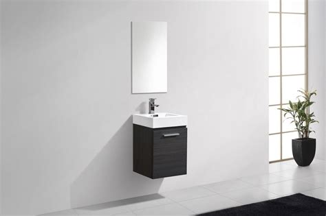 high gloss grey bathroom cabinets bliss 16 quot high gloss gray oak wall mount modern bathroom