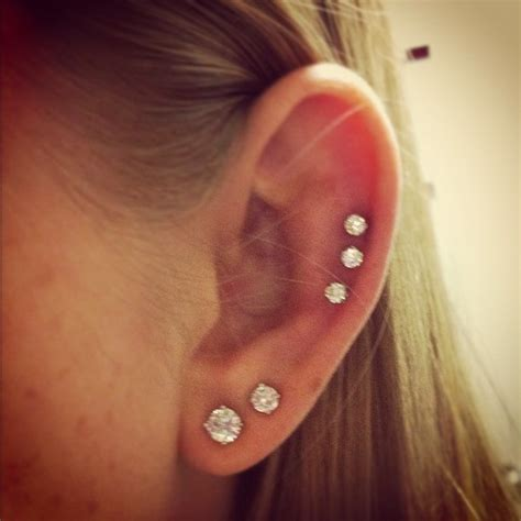 pin cartilage piercing on
