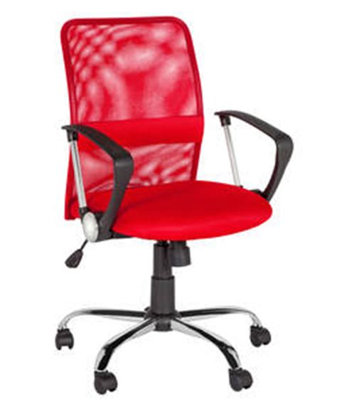 Back Support For Chair Argos by Argos Mid Back Gas Lift Mesh Chair Less Than Half