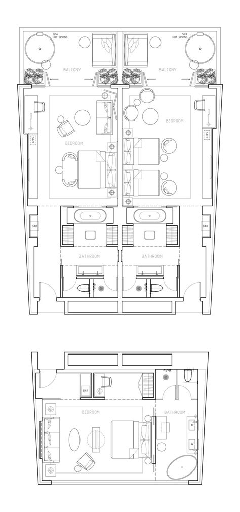 hotel room layout 17 best images about hotel typical floor plan on pinterest