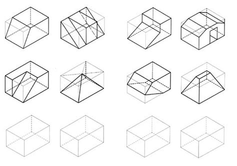 C Drawing Shapes by 1000 Images About رسم هندسي On Isometric
