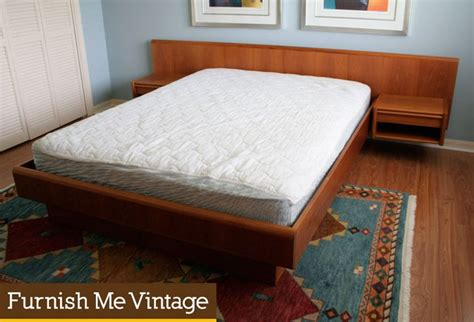 Platform Bed With Floating Nightstands 1000 Ideas About Floating Platform Bed On Pinterest Platform Beds Platform Bed Plans And