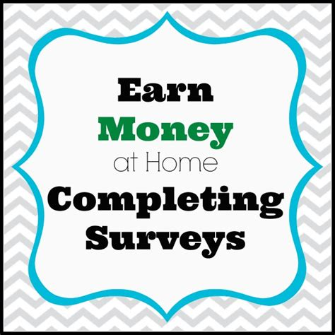 Earn Money By Completing Surveys - earn money with surveys a large list of companies to work with