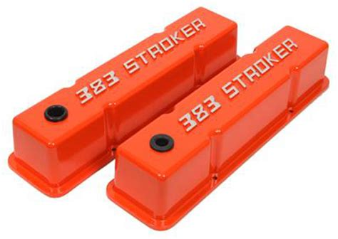 Summit 440403 Summit 383 Stroker Valve Covers Chevy Small