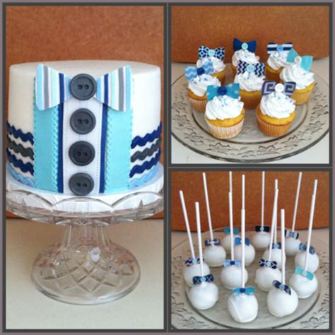 Bow Tie Baby Shower by Bow Tie Baby Shower Cakecentral