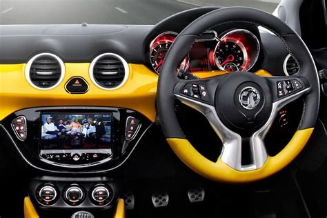 opel adam interior roof opel adam it s much more than a supermini car it s a