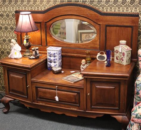 Homestead Handcrafts San Antonio - vintage dresser with oval mirror at homestead handcrafts