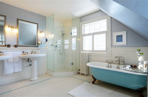 Blue Tub Bathroom by Colorful Bathtub Ideas Bathroom Decor Pictures