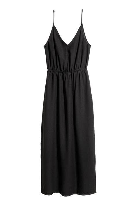 H Caseli Dress Set Black maxi dress black sale h m us