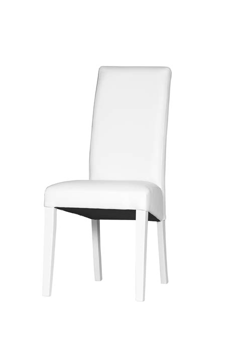 chaise blanche salle a manger chaise blanche