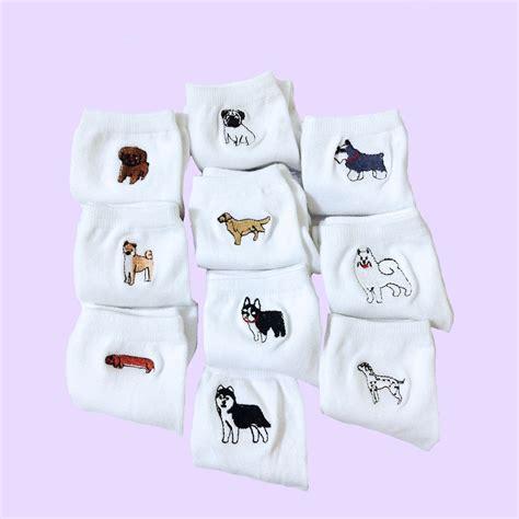 Embroidery Socks shop at milk club ミルククラブショップ