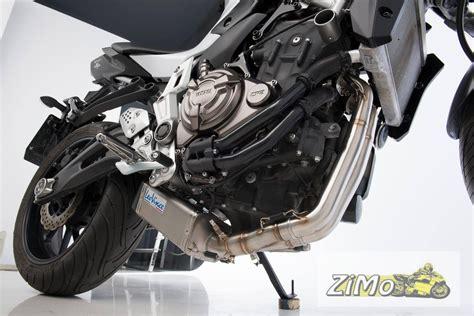 Motorrad Auspuff Mt 07 by Leovince Sbk Auspuff Komplettanlage Underbody Yamaha Mt 07