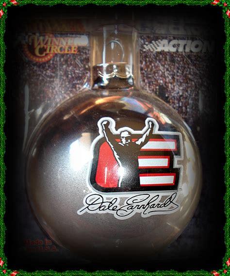 dale earnhardt sr christmas glass ball ornaments tree ornament by dale earnhardt abandoned treasures