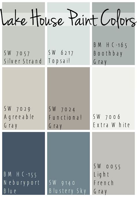 best grey paint colors 2017 lake house paint colors the lilypad cottage