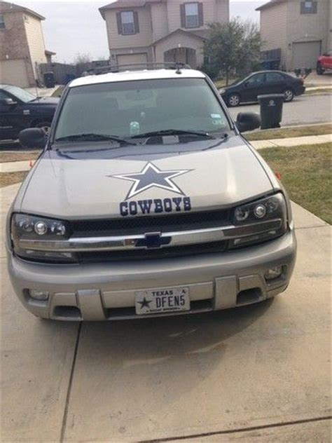 Tony Romo Tires Of by Find Used 2004 Dallas Cowboys Chevrolet Trailblazer Suv In