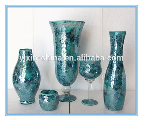 Types Of Vase by Different Types Glass Mosaic Crackle Glass Flower Vase