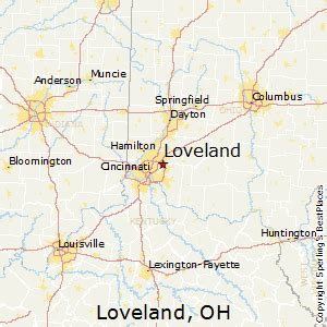 Loveland Ohio Map by Best Places To Live In Loveland Ohio