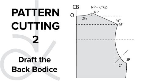 bodice pattern making youtube pattern cutting flat pattern drafting the bodice block
