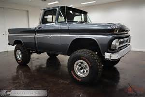Chevrolet Truck 4x4 1963 Chevrolet 4x4 Swb Cool Truck Must See