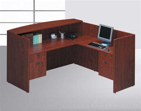 4pcs 71 quot x 78 quot reception office desk set otg sl r2 h2o