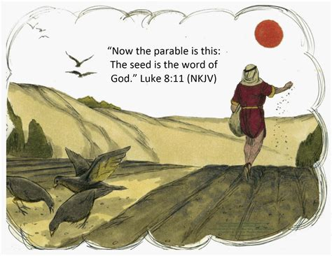 Parable Of The L by Bible For Parable Of The Sower