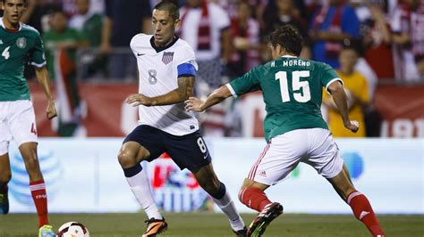 usa world cup u s beats mexico 2 0 clinches world cup berth