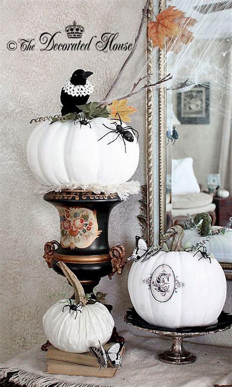 ideas black white halloween decor interior god