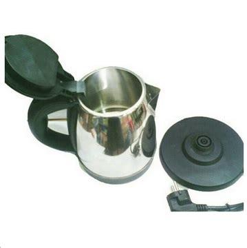 Teko Listrik 100 Watt teko listrik pemanas air stainless kettle electric