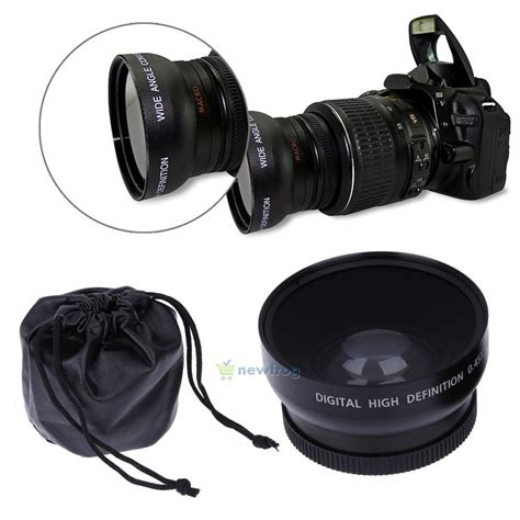 Lensa Fisheye Nikon D5100 52mm Wide Angle Lens 0 45x Macro Fisheye For Nikon Dslr D3200 D3100 D5200 D5100 Ebay
