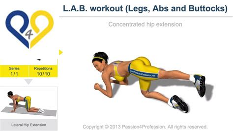 l a b workout legs abs and buttocks