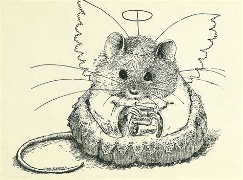 Mouse Pen Drawing 17 best images about pen ink animals on