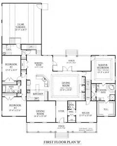 open space floor plans houseplans biz house plan 3027 b the brookgreen b
