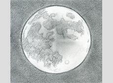 Easy Full Moon Drawing