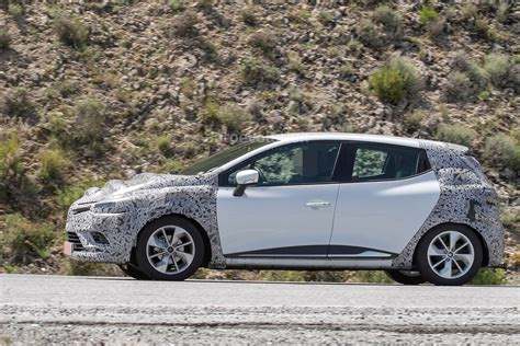 renault clio 2017 spyshots 2017 renault clio facelift is inspired by the