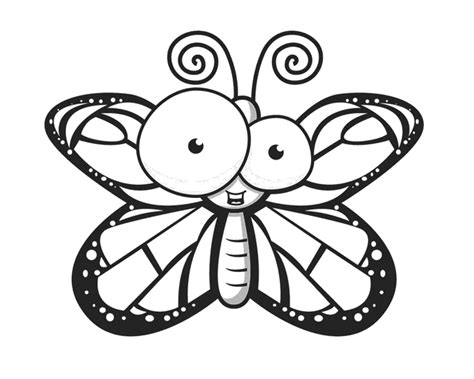 butterfly coloring pages pinterest pinned from site directly butterfly free