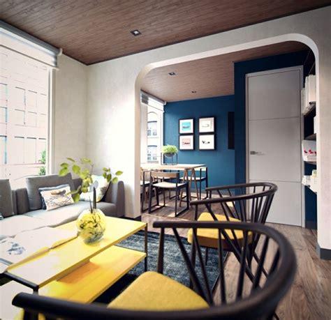Meuble Petit Appartement by D 233 Co Studio Et Petit Appartement 4 Exemples Remarquables