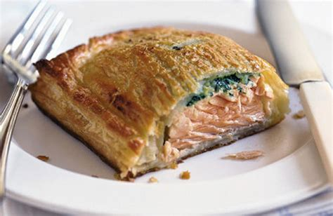 Salmon Encroute salmon en croute recipe dishmaps
