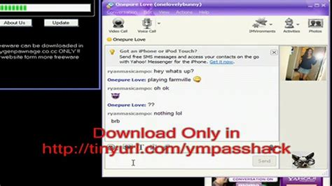 tutorial hack yahoo mail yahoo messenger password october 2010 hack tutorial