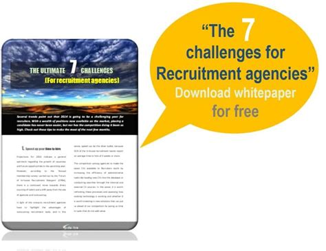 challenge recruitment ltd seven challenges for recruitment agencies daxtra