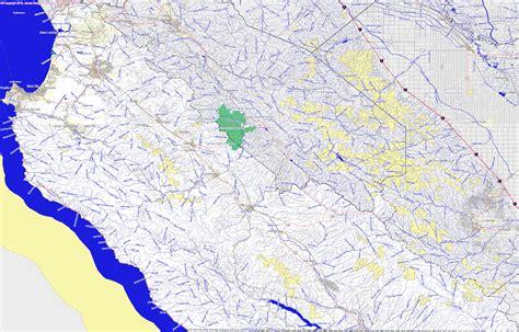 california map monterey county landmarkhunter monterey county california