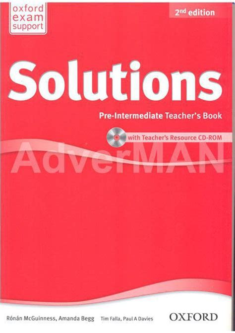 solutions pre intermediate workbook cd solutions 2nd edition teacher s book with cd rom уровень pre intermediate купить