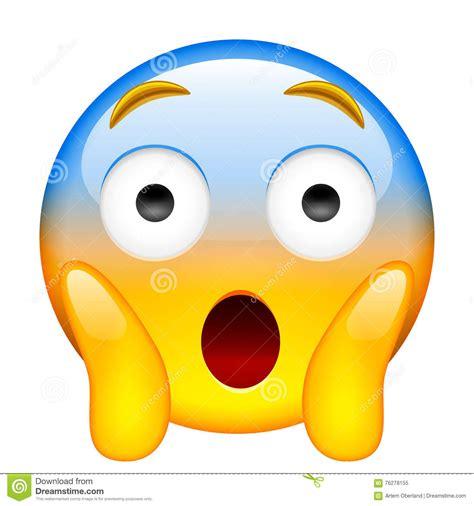 imagenes de emoji asustado cara que grita en miedo griter 237 o en el miedo emoji stock