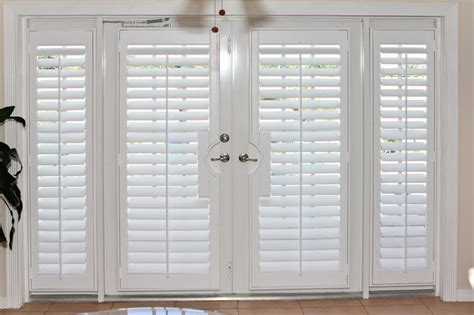 Plantation Shutters For Doors by Plantation Shutters On Doors Blinds