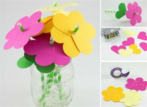 Blumenstrauß Aus Papier Basteln 4726 by Die Besten 25 Papierblumen Basteln Ideen Auf