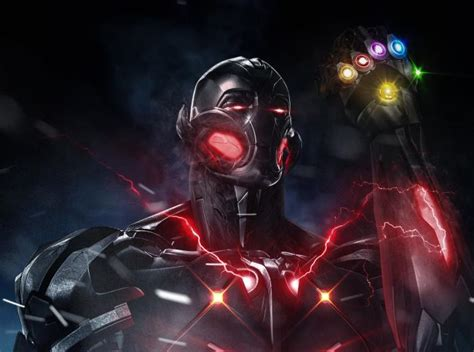 avengers endgame ultron  infinity gauntlet hd