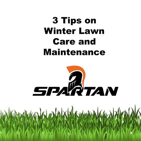 winter lawn care 3 tips on winter lawn care and maintenance spartan