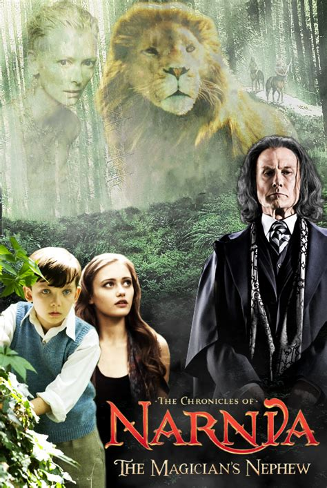 jadwal film narnia di tv the magician s nephew poster by lily so sweet on deviantart