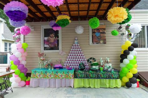 birthday themes for boy and girl thinker bell green lantern birthday party ideas photo
